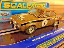 Scalextric Ford Escort MK1 RS 1600 Rally Car Uniflo No1 Car Mint & Unused