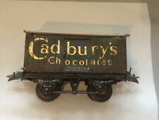 Hornby O Gauge No1 Private Wagon, Cadbury's Chocolate, not boxed