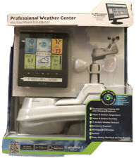 AcuRite 02064 5-in-1 Color Station w/Weather Ticker &Future Forecast NEW