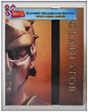 GLADIATOR-ULTIMATE BLURAY STEELBOOK BOX-HD ZETA GOLD LABEL-249/500-NEW/RARE/OOP!