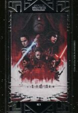 Star Wars Galactic Files, 'Rey' Movie Poster Patch Card MA-RJ