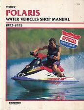 Clymer POLARIS WATER VEHICLES SHOP MANUAL (1996)