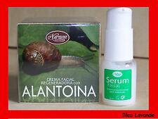 Serum facial Aloe Vera et créme allantoïne bave d'escargot