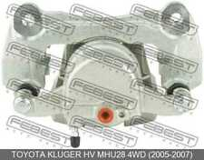 Front Right Brake Caliper Assembly For Toyota Kluger Hv Mhu28 4Wd (2005-2007)