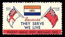 South Africa - WWII Patriotic Poster Stamp