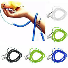 Jf_ Hb- Parrot Bird Lead Leash Kit Anti-bite Flying Training Rope Cockatiel Bu