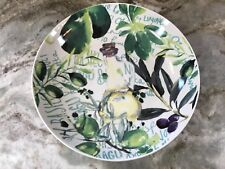Large Pasta Serving Bowl. 11 Inch Diameter. Vegtables. A Perfect Table. New.