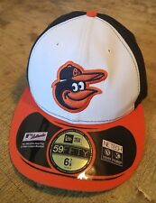 Baltimore Orioles MLB New Era 59Fifty Baseball Cap Fitted Hat Size 6 7/8 NEW!