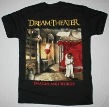 DREAM THEATER IMAGES AND WORDS BLACK Cotton Black Men S-4XL T-Shirt K1443