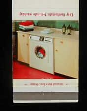 1960s Combomatic Easy Laundry Appliances Division Murray Chicago IL Cook Co