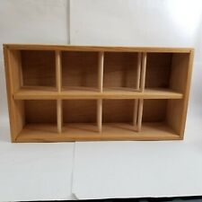 Napa Valley Wood 96 Cd Compact Disc Storage Holder Rack Shelf Wooden Crate