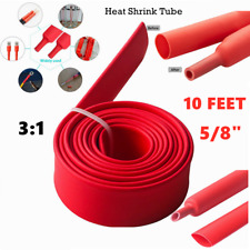 New Listing10ft 58 Heat Shrink Tubing Wire Cable Sleeve 31 Insulation Shrinkable Tube