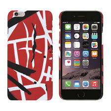 Edward Eddie Van Halen RED STRIPES Iphone 6+ Plus Snap On Cell Phone Case Cover