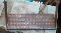 """7"""" X 20"""" Steel Step Heavy Duty for Camper Trailer or Heavy Equipment/Tractor"""