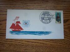 Coast Guard 200th. Anniv. Pictorial Lighthouse Cancel Ellsworth, ME 1990 MIK
