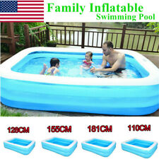 Outdoor Children Inflatable Swimming Pool Lounge Family Summer Play Ground Pool
