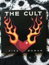 "The Cult-Fire Woman 3"" CD Single Includes The Rare Edit Of Fire Woman"