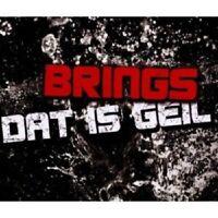 """BRINGS """"DAT IS GEIL"""" CD SINGLE NEW"""