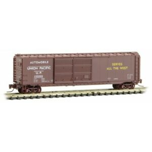 Z Scale - MICRO-TRAINS LINE 506 00 290 UNION PACIFIC 50' DBL Door Box Car