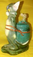 Vintage Tom & Jerry Ceramic Coin Bank Metro Goldwyn Mayer 1972