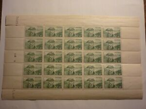 ANDORRE FEUILLE COMPLETE 25 TIMBRES N°117 NEUFS**.