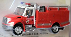 GMC Topkick 2003 Fire Department Fire Engine Pump and Hose 1:87 Boley 3200702W