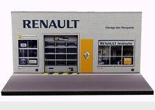 Diorama Renault - Garage des Remparts - 3 inch   1/64ème - #3in-2-C-C-001