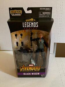 Hasbro Avengers Infinity War Black Widow Legends Series Figure Scarlett MINT NIB