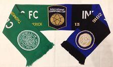 Celtic V Inter de Milán bufanda Internacional Campeones Copa 2016-2017