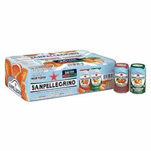 (24 cans) San Pellegrino (Clemetine + Blood Orange) Sparkling Drinks 11.15 Fl Oz