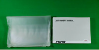 2017 KIA NIRO OWNERS MANUAL OEM KIT L SX TOURING LX EX FE OWNER BOOKLET GUIDE 17