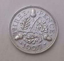 More details for 1927 threepence coin silver proof uncirculated scarce