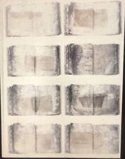 "Anselm Kiefer ""High Priestess Book 14"" German Modern Art 35mm Slide"