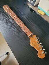 More details for fender stratocaster roasted maple neck - pau ferro fingerboard w/ locking tuners