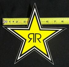 "Rockstar Energy Drink 8"" Logo Sticker Star Decal BMX Car Truck Window Moto Phone"