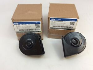 Ford Focus Super Duty Ranger Horn Assembly Kit New OEM 2W7Z-13800-AA