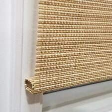 Cordless Natural Cordless Light-Filtering UV Protection Bamboo Shades
