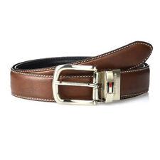 Tommy Hilfiger 11TL08X014 Men's Leather Reversible Belt