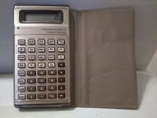 Vintage Texas Instruments Business Analyst Ba-Ii Calculator w/case. Works great!