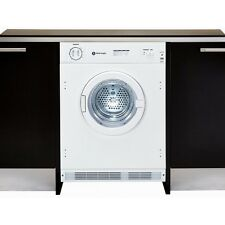 White Knight C43AW Fully Integrated full size tumble dryer built in 6kg