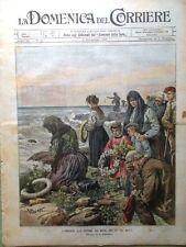 La Domenica del Corriere 2 Novembre 1902 Dezza Kruger Disastro a Cerda Siberia