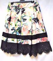 TS skirt TAKING SHAPE EVENT-WEAR plus sz  M / 20 Sundae Rose lacy NWT rrp$180!