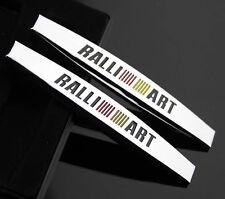 2pcs Top 3D RALLI ART Auto Aufkleber Emblem Schriftzug für Schutzblech Sports