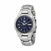 Seiko 5 SNK603 Automatic Day-Date Blue Dial Stainless Steel Men's Watch SNK603K1