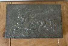 Art Nouveau arts and crafts pewter covered cigarette box