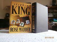 STEPHEN KING ROSE MADDER 1ST/1ST U.K  HB VGC