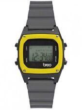 Reloj Digital Breo binario B-TI-BIN96 Retro Unisex Gris/Negro/Amarillo
