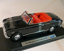 Peugeot 403 cabriolet, Noir, 1:18 - welly