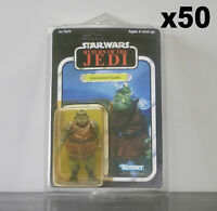 CLEARANCE 50 x Action Figure Case - New & Vintage Style Star Wars Carded Figures