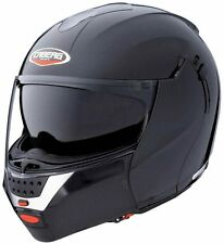 Caberg Justissimo GT metal black Flip Up Motorcycle Helmet Double Sun Visor xs